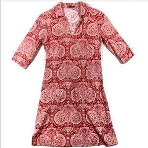 J McLaughlin Women's Paisley Shirt Dress